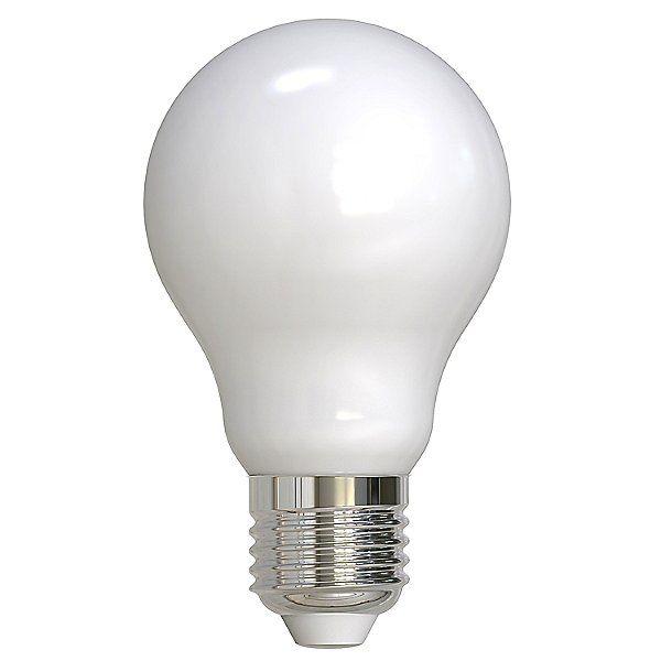 9W 120V LED A19 E26 White Bulb