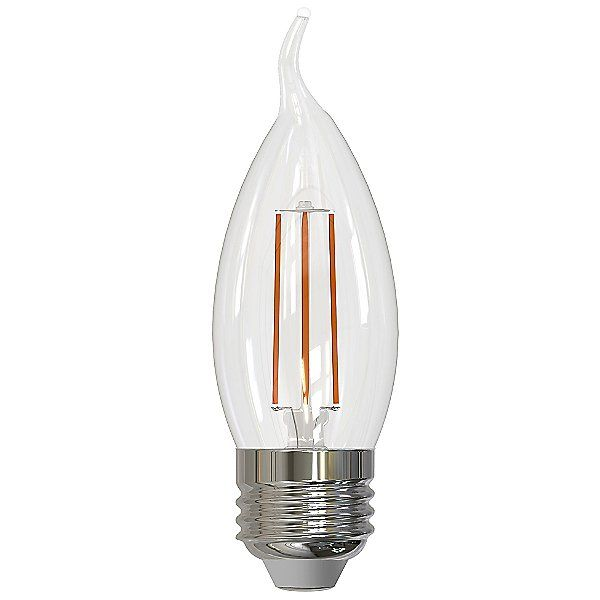 4.5W CA10 E26 LED Clear Bulb