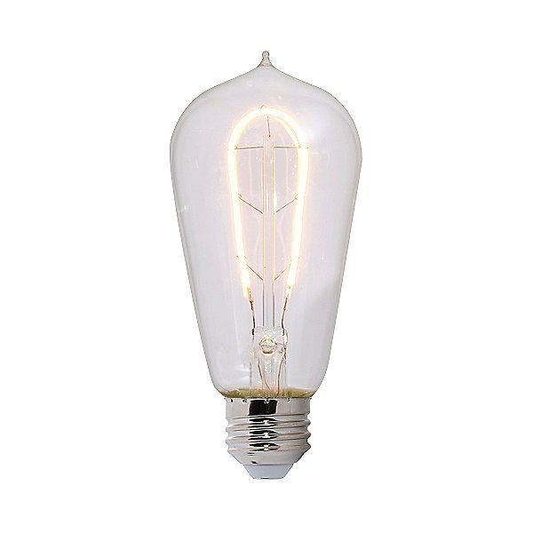 2W 120V ST18 E26 LED Clear Bulb
