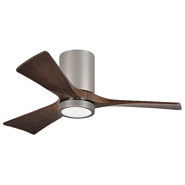 Irene-HLK LED Flushmount 3 Blade Ceiling Fan