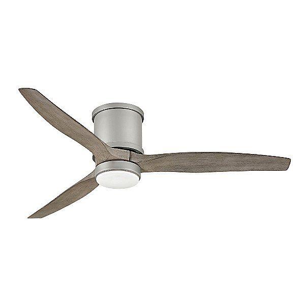 Hover LED Flushmount Ceiling Fan