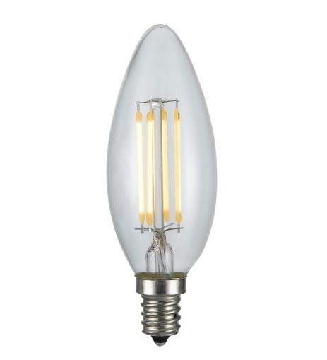 Cal Lighting LB-LED4W22K-E12 4W E12 Base Edison LED Replacement Bulb