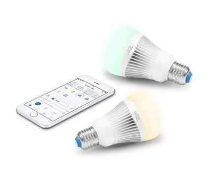 WiZ-Smart-Products  IZ0126082 WiZ - 8.06 Inch 11.5W A19 LED Wi-Fi Connected Smart LED Light Bulb
