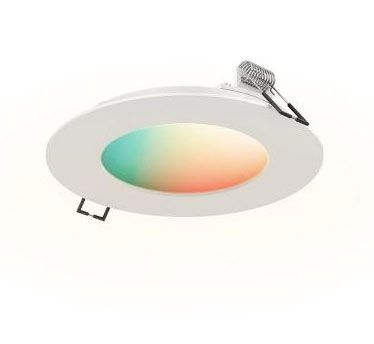 SWP4-RGBW 4 Inch 9W 1 LED Smart RGB Recessed Panel By DALS Lighting