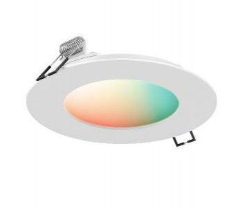 SM-PNL6 6 Inch 15W 1 LED Smart RGB+CCT Recessed Panel Light By DALS Lighting