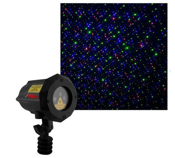 New Design Moving Firefly LEDMALL RGB Outdoor Garden Laser Christmas Lights