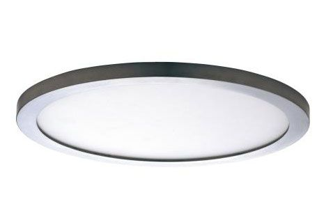 Maxim Lighting 57736WT Wafer 15 Inch 36W 3000K 1 LED Round Flush Mount