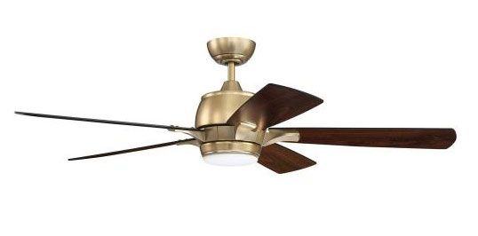 Craftmade Lighting STE52 Stellar 52 Inch Ceiling Fan with Light Kit