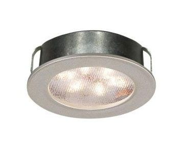 WAC Lighting HR-LED87 Ledme 2 Inch 4.8W 2700K 1 LED Round Recessed/Surface Mount Button Light