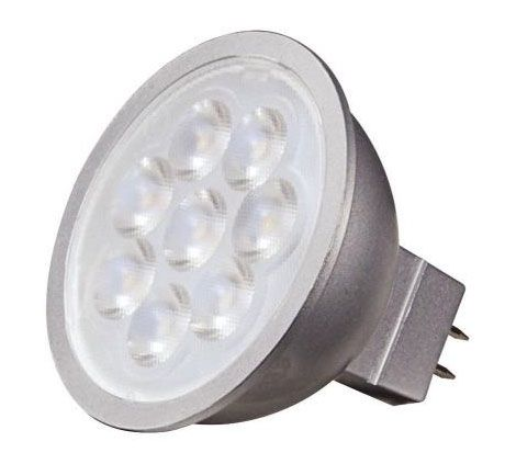 Nuvo Lighting S9499 2 Inch 6.5W 5000K 40 Degree MR16 LED GU5.3 Base Replacement Lamp