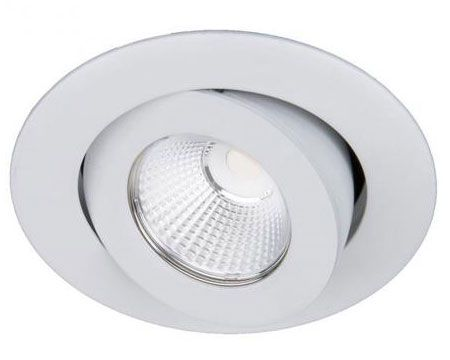 WAC Lighting R3BRA-S930 Oculux - 3.5 Inch 11W 15 degree 3000K 90CRI 1 LED Round Adjustable Trim with Light Engine