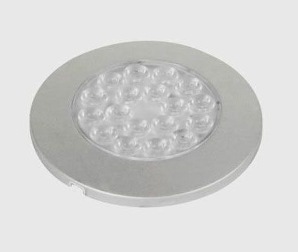 Jesco Lighting SD122CV35 Orionis 2.88 Inch 1.25W LED Round Surface Mount-1.25 Watt-LED Bulb