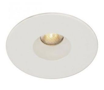 WAC Lighting HR-LED231 LEDme 2 Inch 4W 1 LED 2700K Recessed Light with Open Reffle Round Trim and Remote Driver