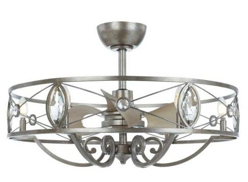 Maxim Lighting 60013SM Solitaire 30.75 Inch 24W 6 LED Fandelier