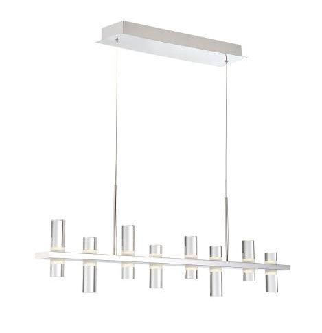 Eurofase Lighting 33723-013 Netto Linear Chandelier 8 Light