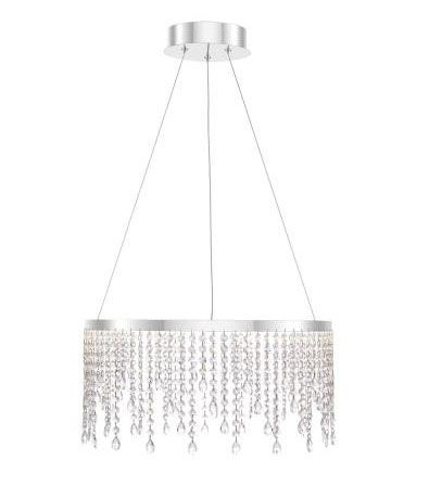 Quoizel Lighting PCBN2820C Platinum Collection Borderline 20 Inch 22W 1 LED Pendant