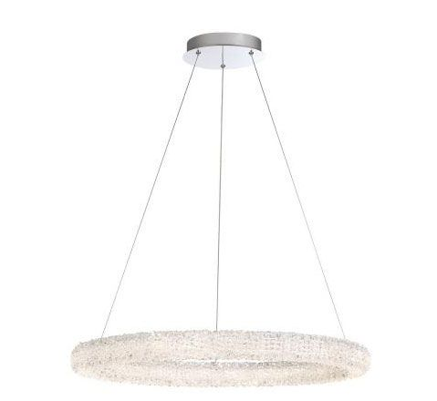 Eurofase Lighting 34153-017 Sassi Round Chandelier 1 Light