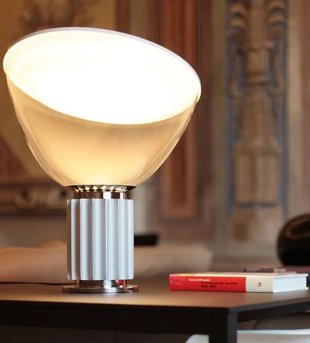 Taccia LED Table Lamp Dimmable with Plastic Diffuser