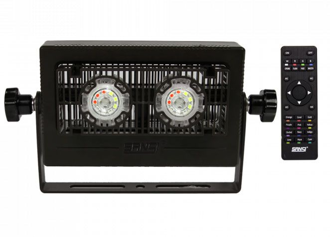 10W RGB LED Flood Light (2-Pack)