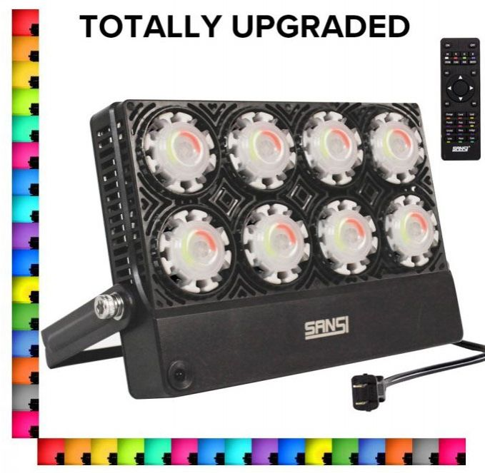 Upgraded 50W RGB LED Flood Light