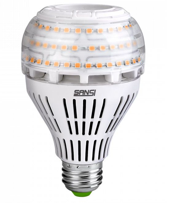 22W LED Bulb (3000K, 2-Pack)