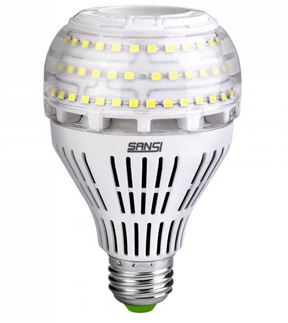 22W LED Bulb (5000K, 2-Pack)