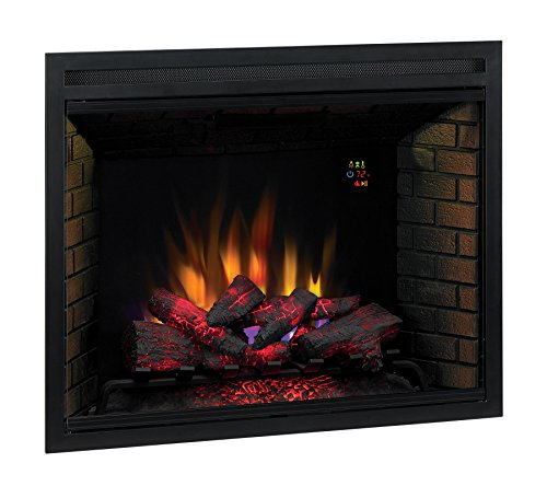 Classicflame 39eb500gra 39 traditional built in electric for Fireplace insert options