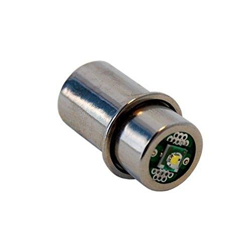 Hqrp High Power 3w Led Bulb For Maglite 3d 4d 5d 6d 3c