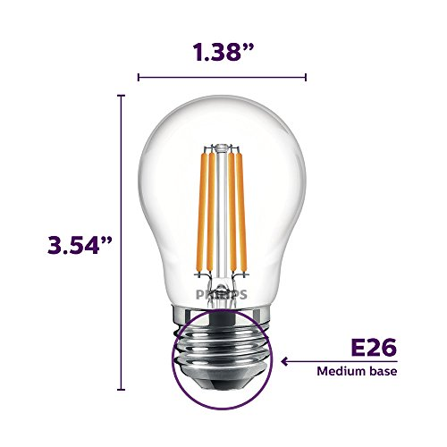 Philips Led Dimmable A15 Light Bulb 500 Lumen 5000